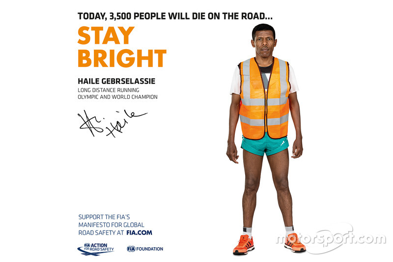 Haile Gebrselassie, long distance runner