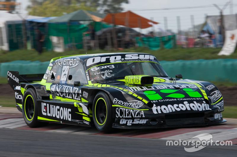 Mauro Giallombardo, Werner Competicion Ford