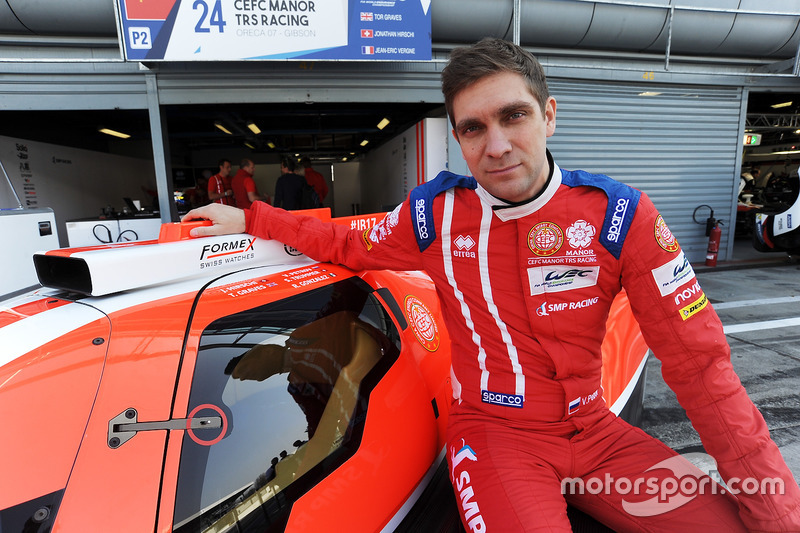 Виталий Петров, CEFC Manor TRS Racing (LMP2)