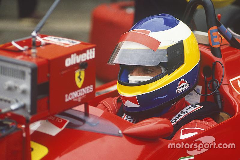 Michele Alboreto, Ferrari F187/88C
