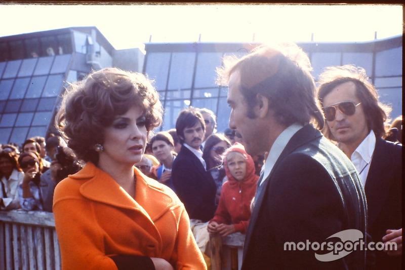 Gina Lollogrida és Clay Regazzoni