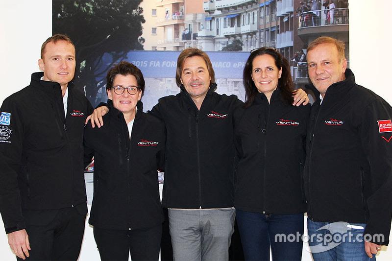 Michael Killerich, Ellen Lohr, Marc Gindorf, Birgitt Dietel y Richard Borfiga