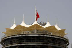Start/ZIel-Turm am Bahrain International Circuit