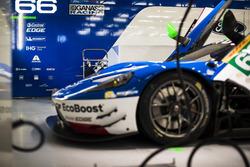 Garaje del #66 Ford Chip Ganassi Racing Ford GT: Olivier Pla, Stefan Mücke, Billy Johnson
