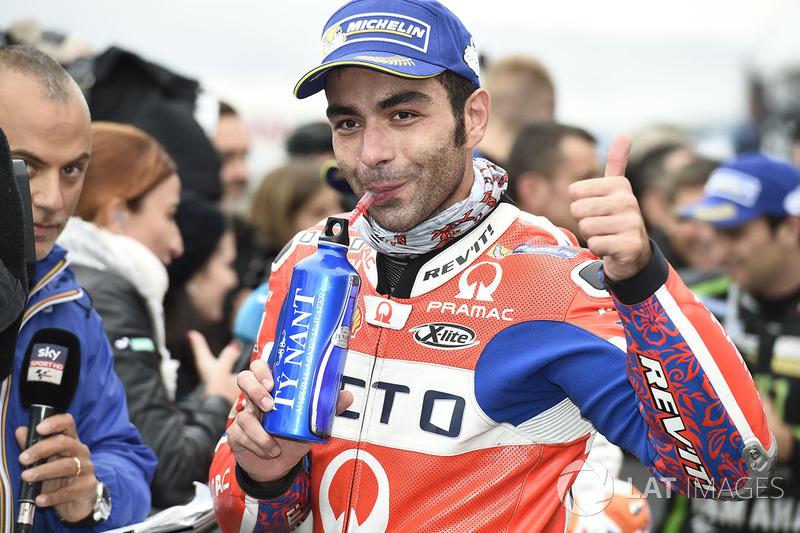 Second place Danilo Petrucci, Pramac Racing