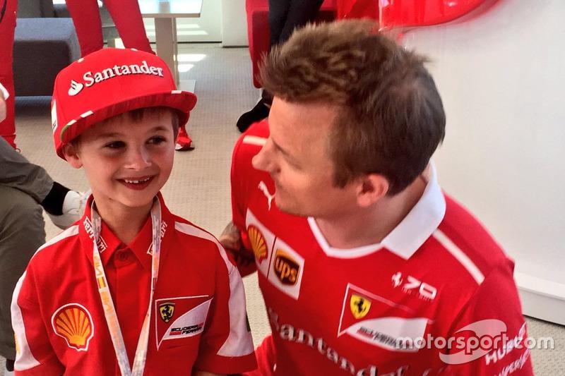 La communication de la F1 grâce à l'enfant star