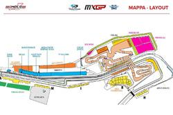 Mappa MXGP Imola