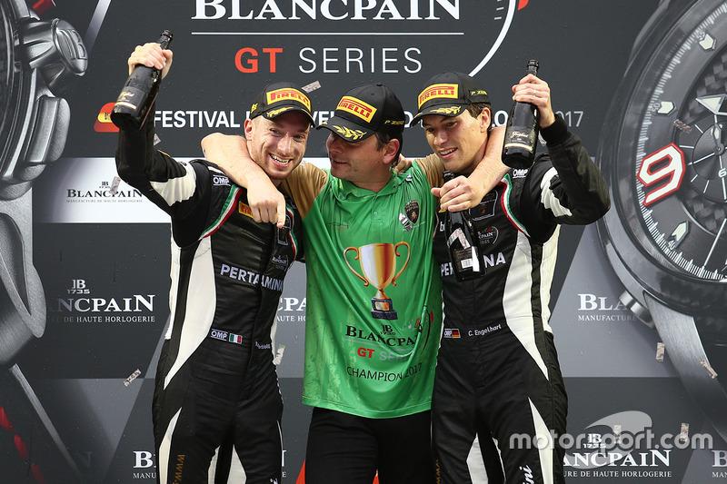 Blancpain Endurance (BES): Mirko Bortolotti (Italien), Andrea Caldarelli (Italien), Christian Engelhart (Deutschland)