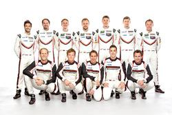 Porsche fabrika pilotları 2017