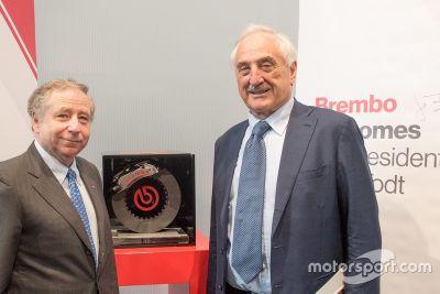 Jean Todt en Brembo