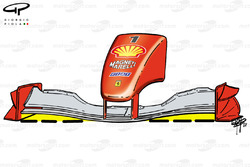 Ferrari F2001 (652) 2001 front wing and nose