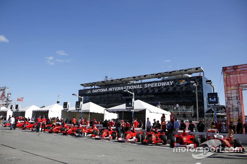Los autos vintage de Ferrari F1