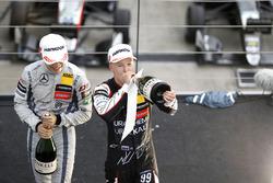 Podium: Nikita Mazepin, Hitech Grand Prix, Dallara F317 - Mercedes-Benz