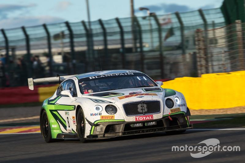 #8 Bentley Team M-Sport Bentley Continental GT3: Енді Соучек, Максим Суле, Венсан Абріль