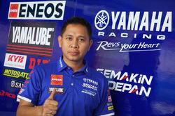 Wahyu Rusmayadi, Manajer Tim Yamaha Racing Indonesia