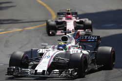 Felipe Massa, Williams FW40, Esteban Ocon, Sahara Force India F1 VJM10