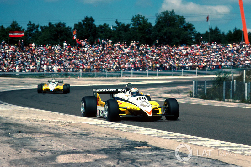 2. Швейцарія-1982, Діжон-Пренуа: Ален Прост, Renault RE30B - 1.01,380