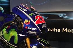 La moto de Maverick Viñales, Yamaha Factory Racing