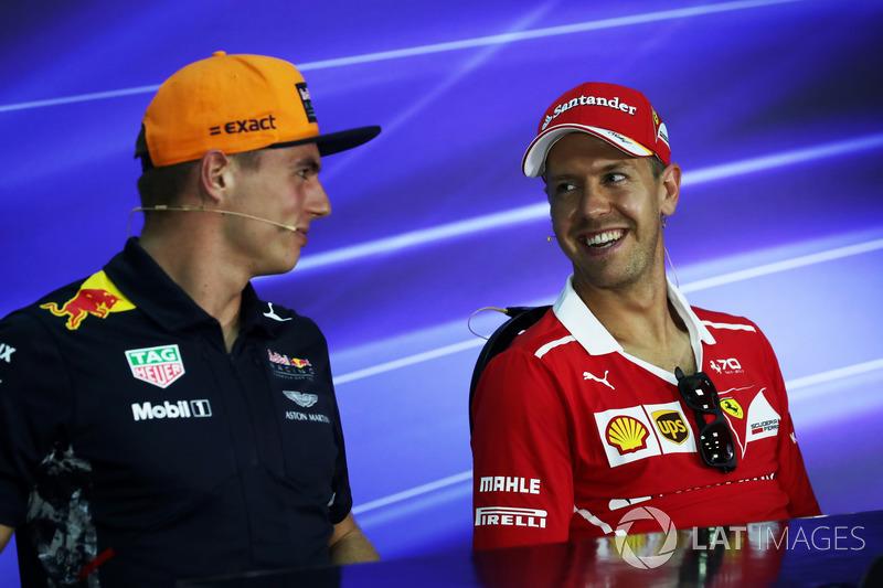 Макс Ферстаппен, Red Bull Racing, Себастьян Феттель, Ferrari