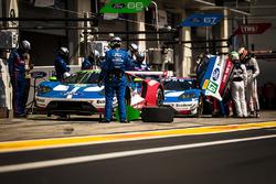 #66 Ford Chip Ganassi Racing Ford GT: Олів'є Пла, Штефан Мюкке, #67 Ford Chip Ganassi Racing Ford GT: Енді Пріоль, Гаррі Тінкнелл