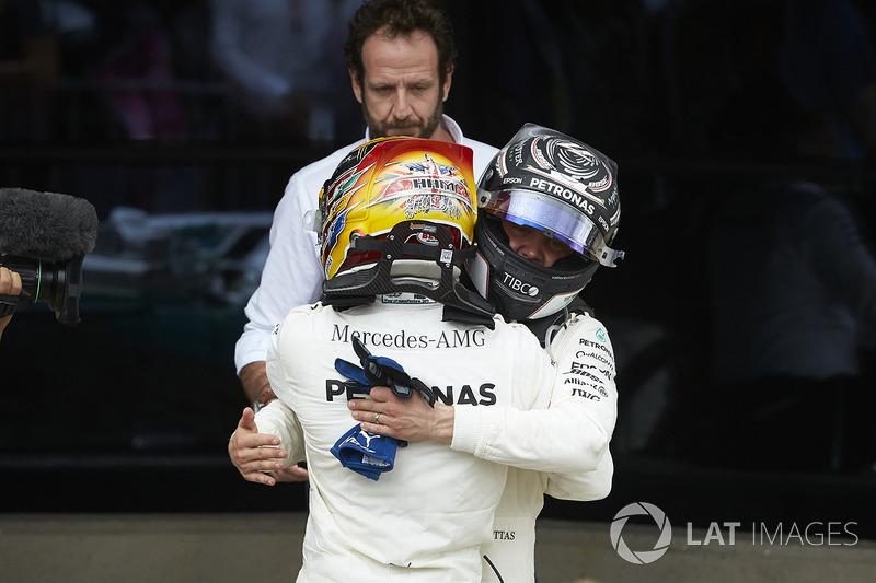 Льюіс Хемілтон, Валттері Боттас, Mercedes AMG F1