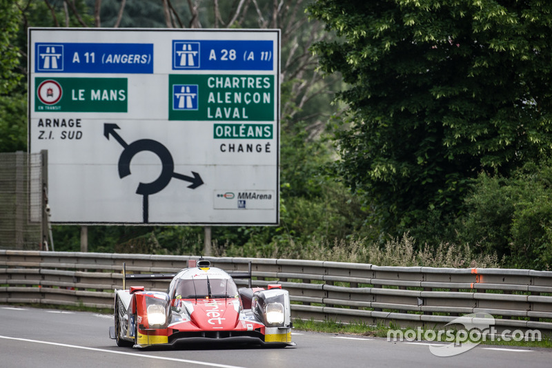 #46 Thiriet by TDS Racing Oreca 05 Nissan: П'єрр Тір'є, Матіас Беш, Ре Хіракава