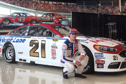 Throwback-Design von Ryan Blaney, Wood Brothers Racing, Ford