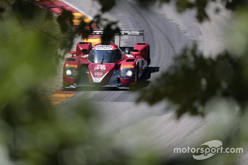 #70 Mazda Motorsports Mazda Prototype: Joel Miller, Tom Long