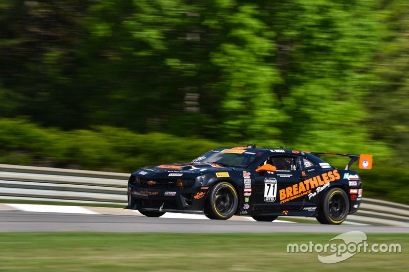 #71 Breathless Racing, Chevrolet Camaro: Dave Ricci