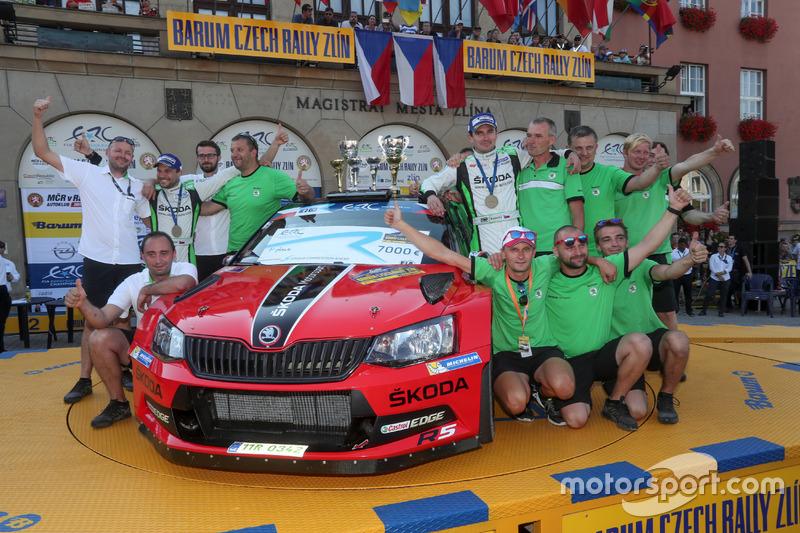 Jan Kopecký e Pavel Dresler, SKODA Motorsport