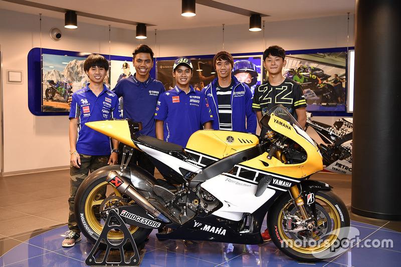 1. Yamaha VR46 Master Camp
