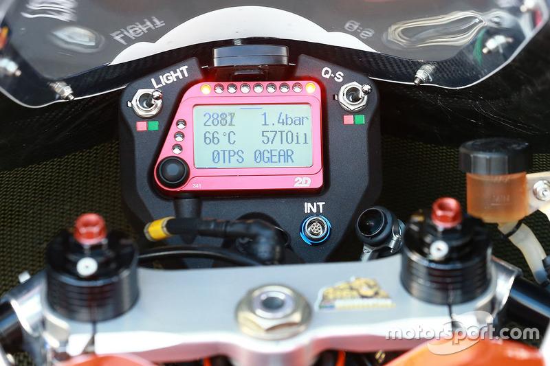 Detail vom Motorrad, Red Bull KTM Ajo