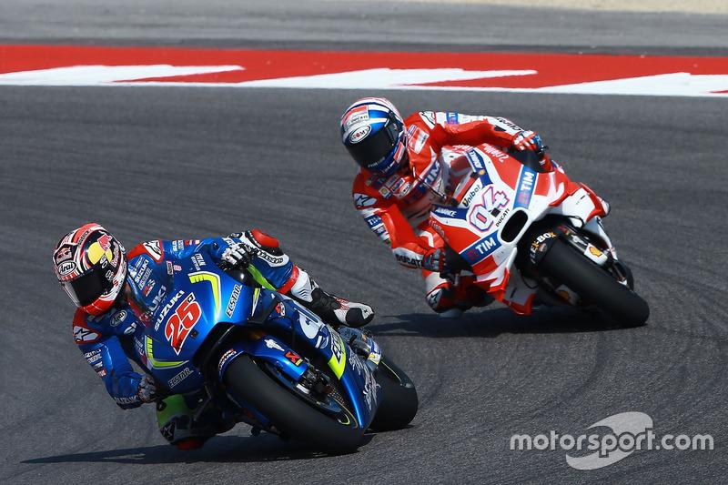Maverick Viñales, Team Suzuki Ecstar MotoGP, Andrea Dovizioso, Ducati Team