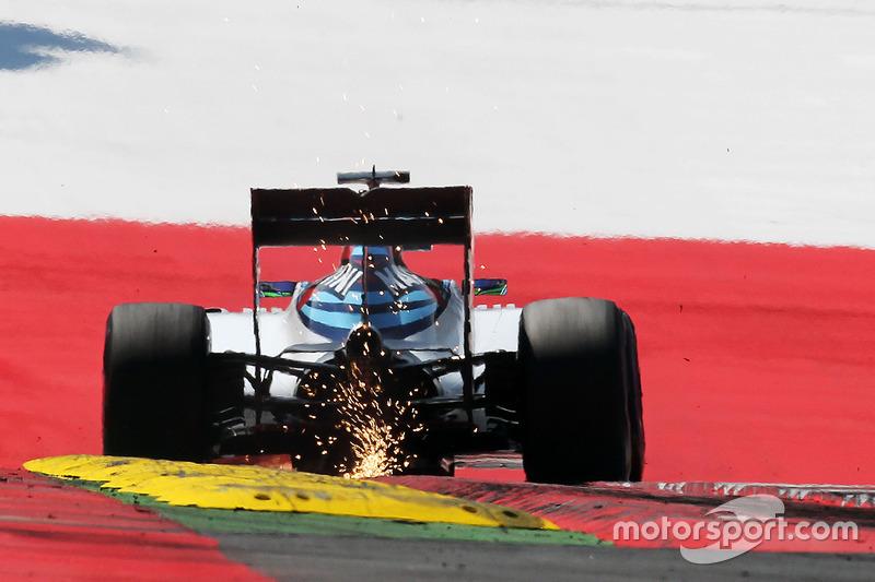 Felipe Massa, Williams FW38 fa scintille