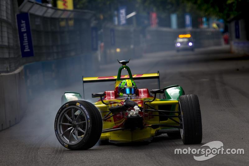 Kecelakaan Lucas di Grassi, ABT Schaeffler Audi Sport