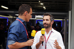Timo Glock, (Right) RTL Presenter