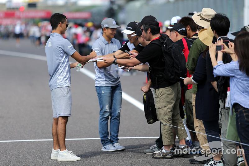 Pascal Wehrlein, Manor Racing und Rio Haryanto, Manor Racing