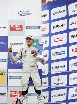 Podium: 3. George Russell, HitechGP, Dallara F312, Mercedes-Benz