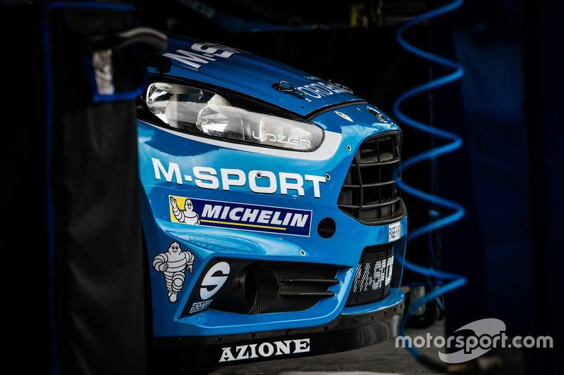 Detail, M-Sport Ford Fiesta WRC