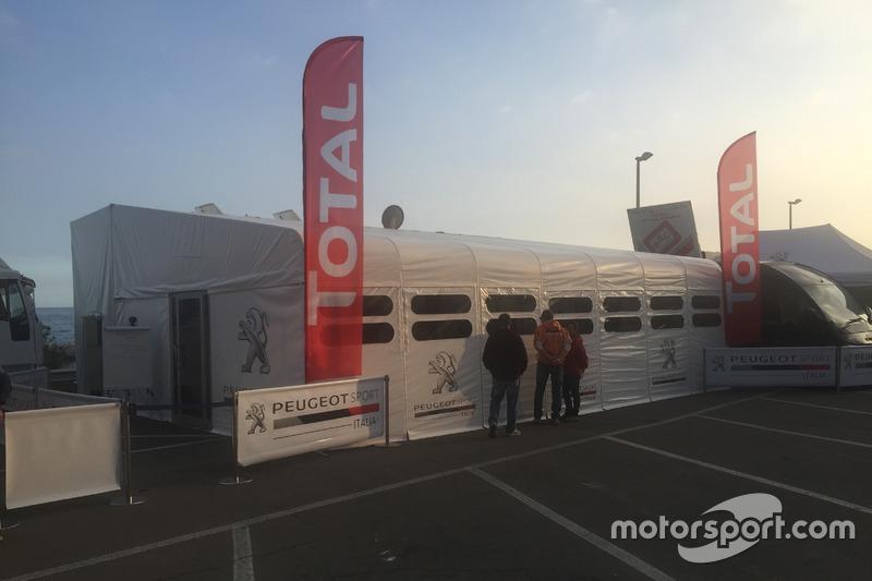 Hospitality Peugeot Sport