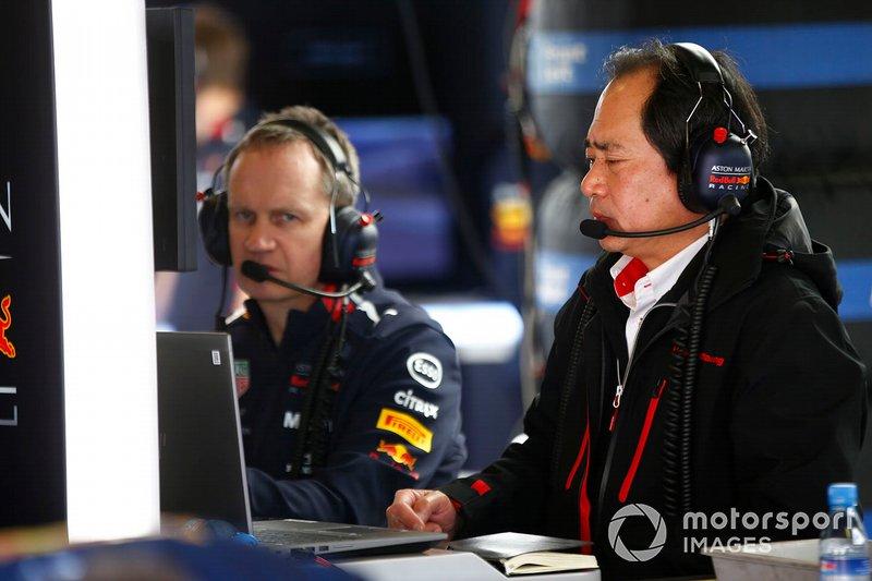 Toyoharu Tanabe, Honda, di garasi Red Bull Racing