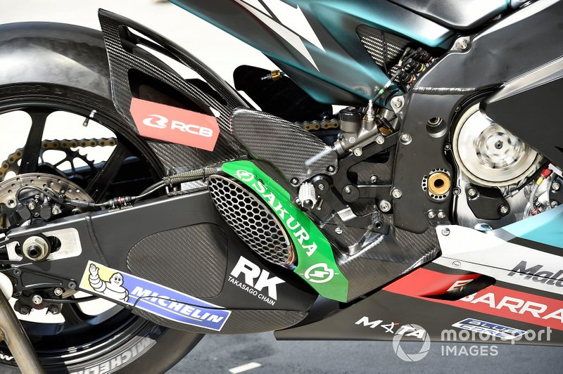 SIC Petronas Yamaha, bike