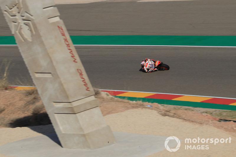 Marc Marquez, Repsol Honda Team, nella curva Marquez