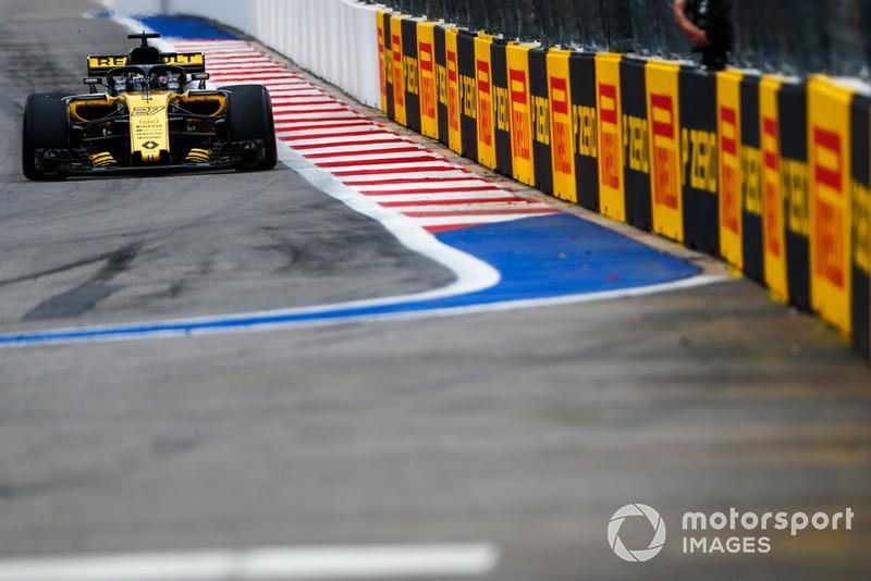 12: Нико Хюлькенберг, Renault Sport F1 Team R.S. 18, без времени в Q2