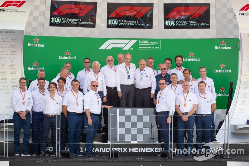 ASN Canada President Roger Peart honoured by the FIA