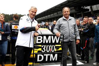 Jens Marquardt, Director de BMW Motorsport y Gerhard Berger, Presidente de ITR Andreas Beil