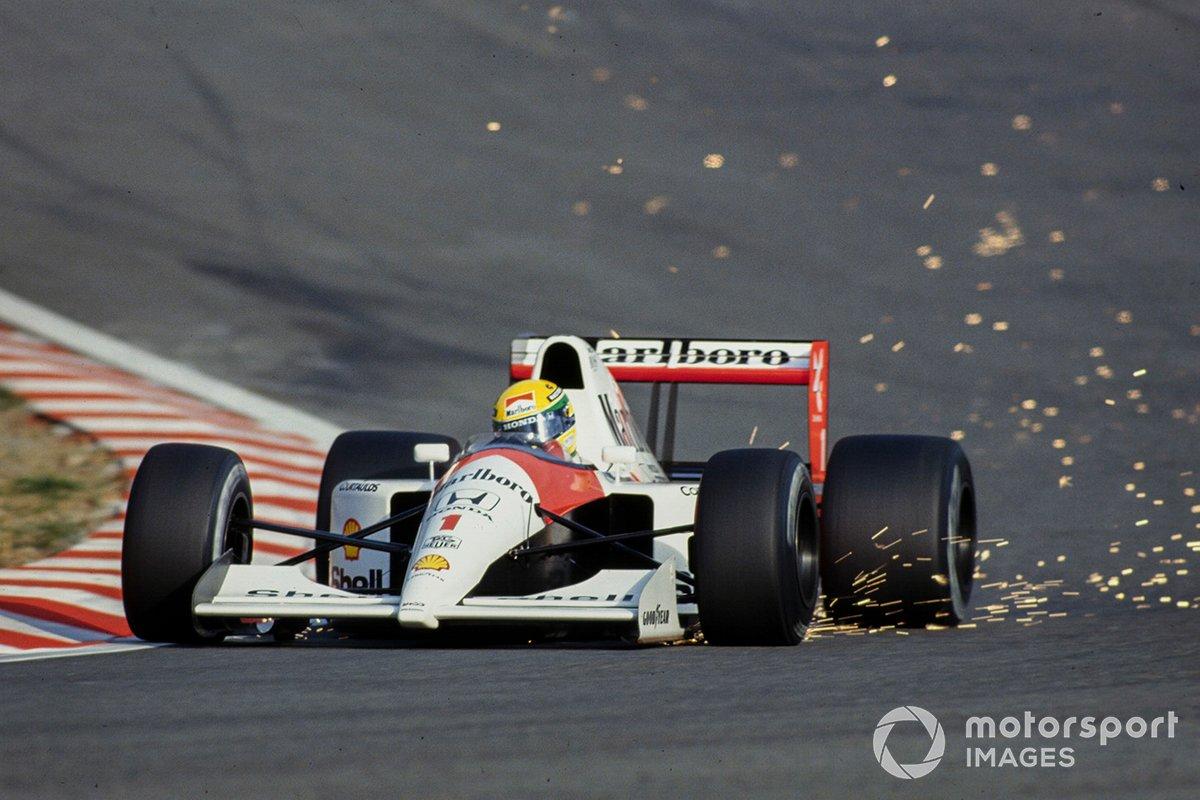Ayrton Senna, McLaren MP4-6 Honda