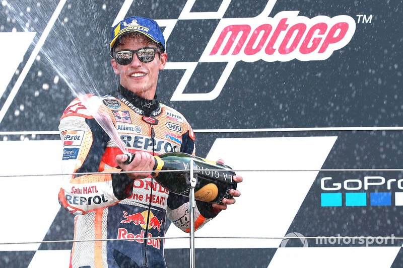 Il secondo classificato Marc Marquez, Repsol Honda Team