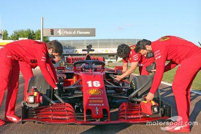 La Ferrari SF1000 dans les rues de Maranello
