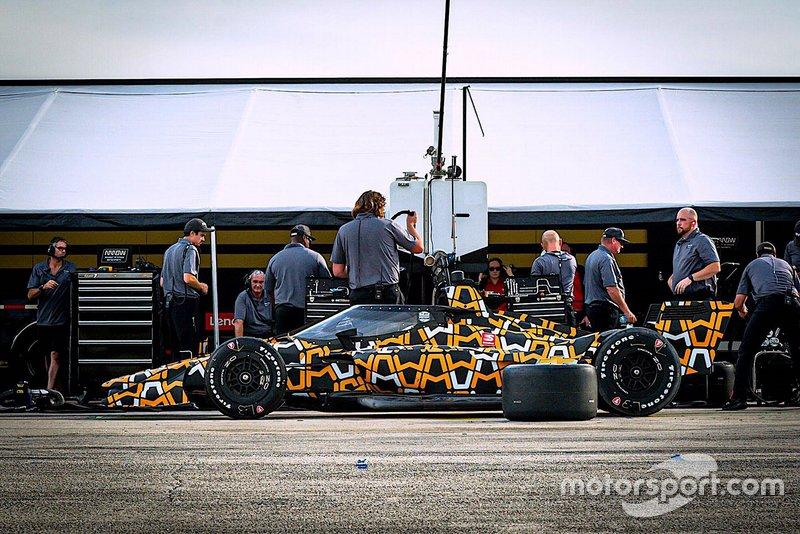 Тесты Arrow McLaren SP в Себринге